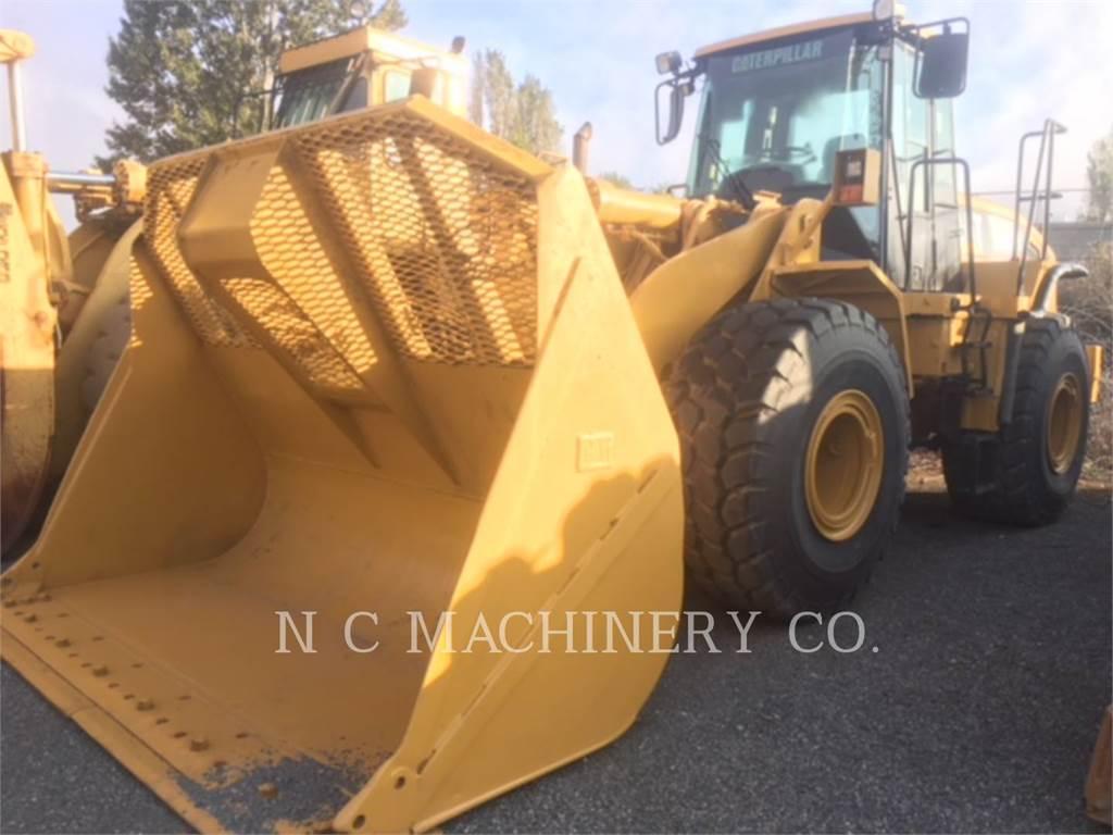 Caterpillar 966H、ホイールローダー、建設