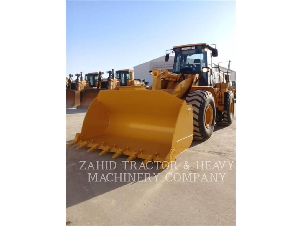 Caterpillar 966H、ホイールローダー・タイヤショベル、建設