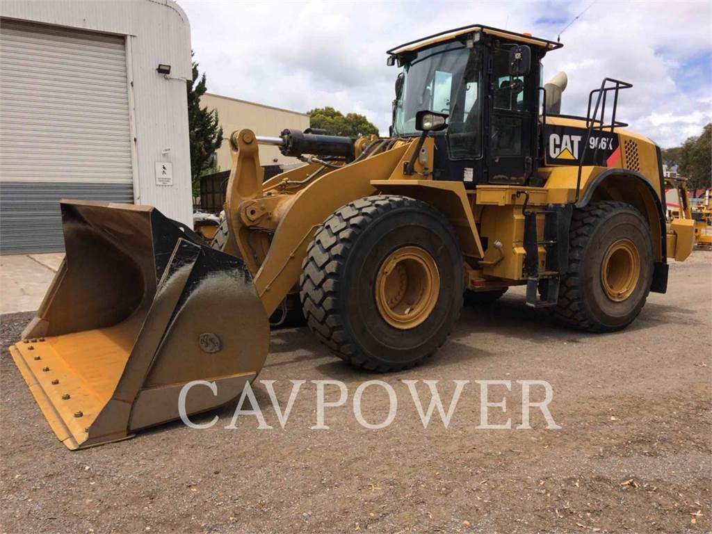 Caterpillar 966K、ホイールローダー、建設