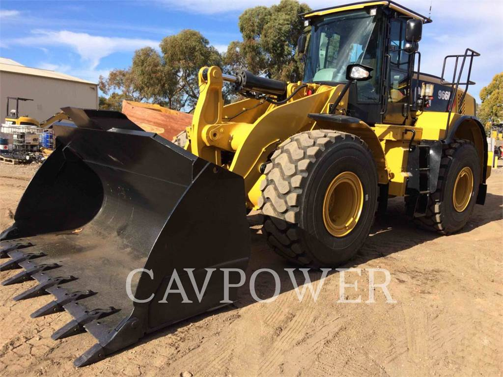 Caterpillar 966K, Wheel Loaders, Construction