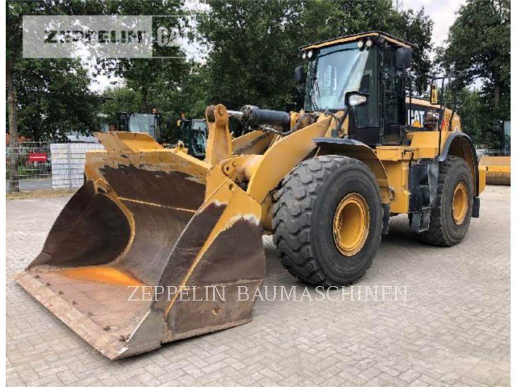 Caterpillar 966K, Incarcator pe pneuri, Constructii