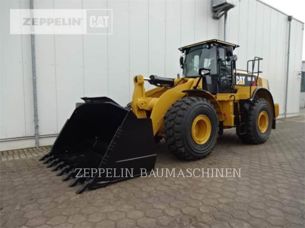 Caterpillar 966K, Cargadoras sobre ruedas, Construcción