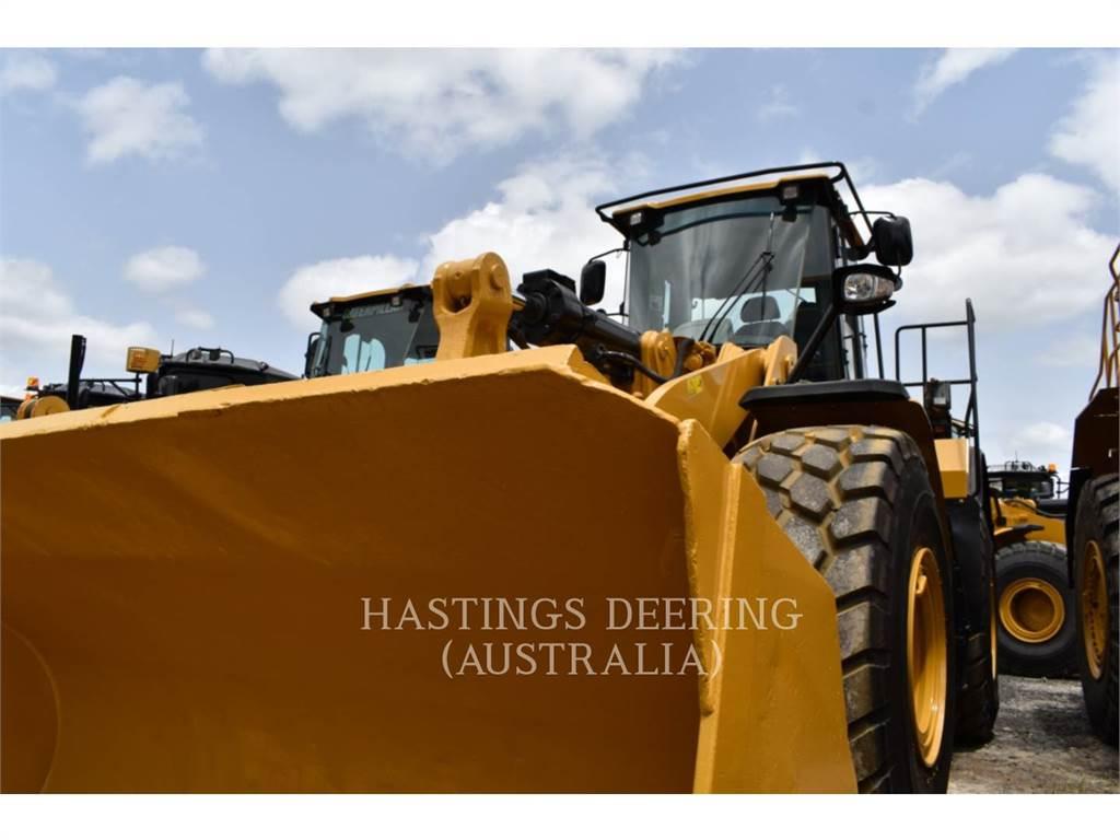 Caterpillar 966KXE, Cargadoras sobre ruedas, Construcción