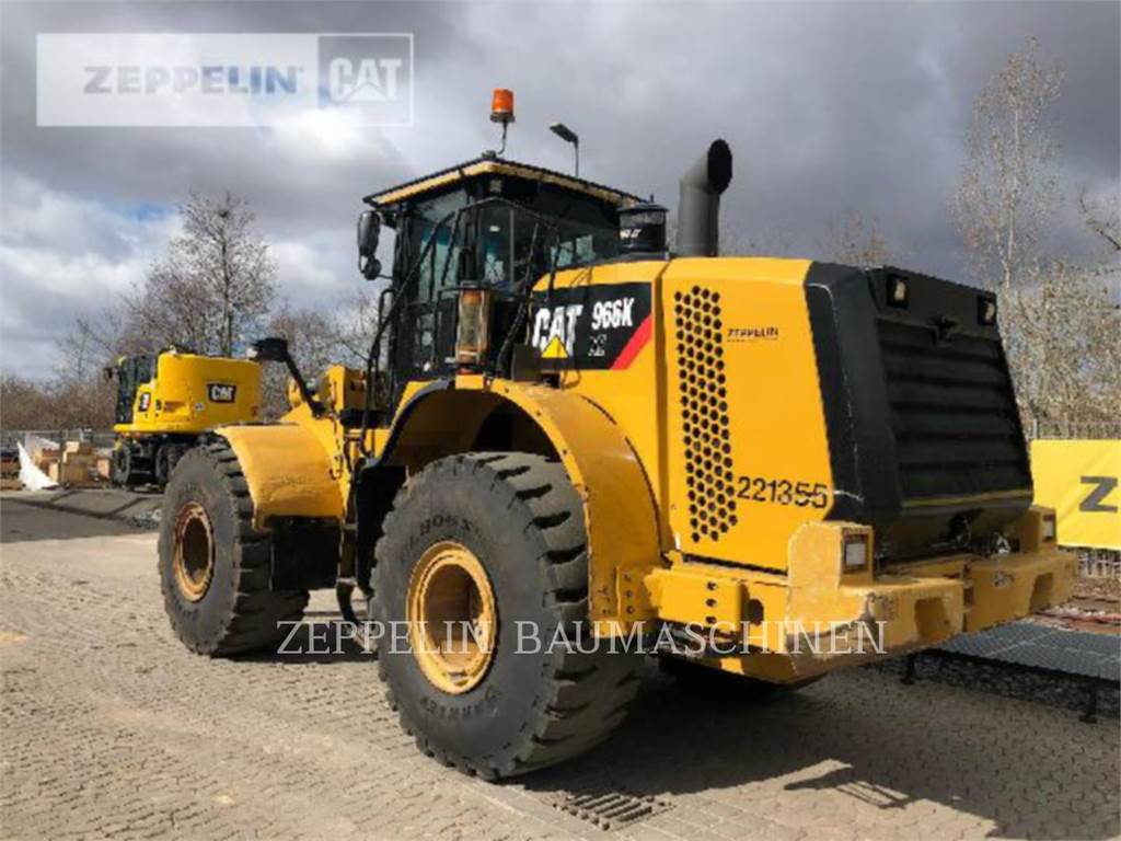 Caterpillar 966KXE, Incarcator pe pneuri, Constructii