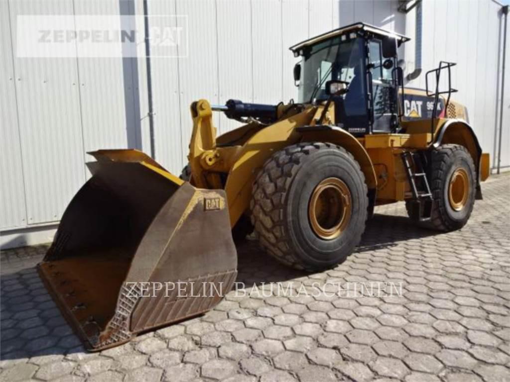 Caterpillar 966KXE, Pás carregadoras de rodas, Equipamentos Construção