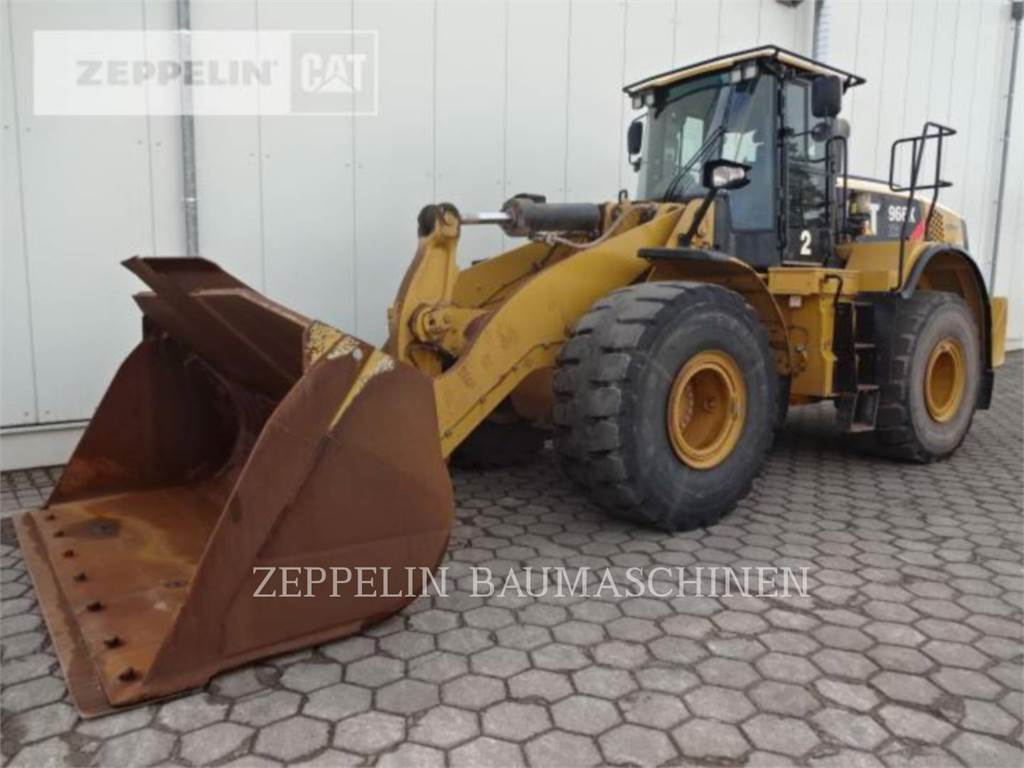Caterpillar 966KXE, Wheel Loaders, Construction