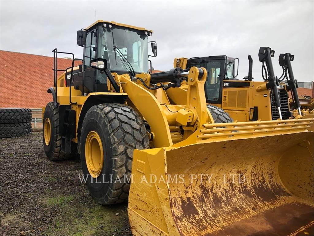 Caterpillar 966L, Wheel Loaders, Construction