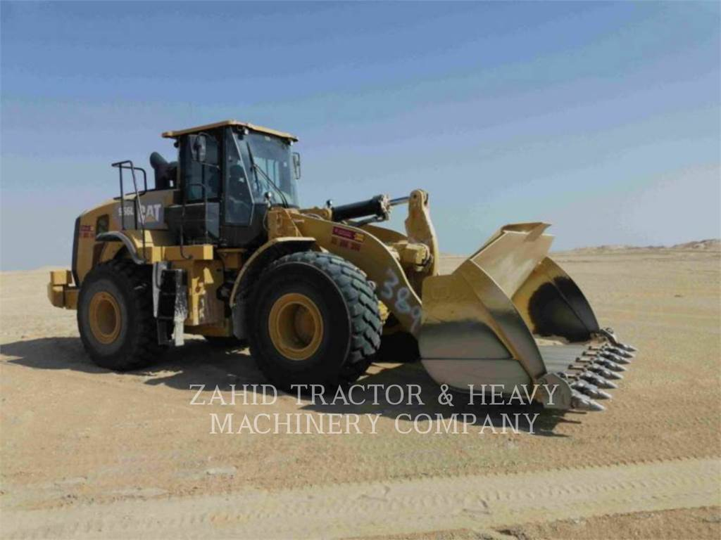 Caterpillar 966L, Wheel Loaders, Construction