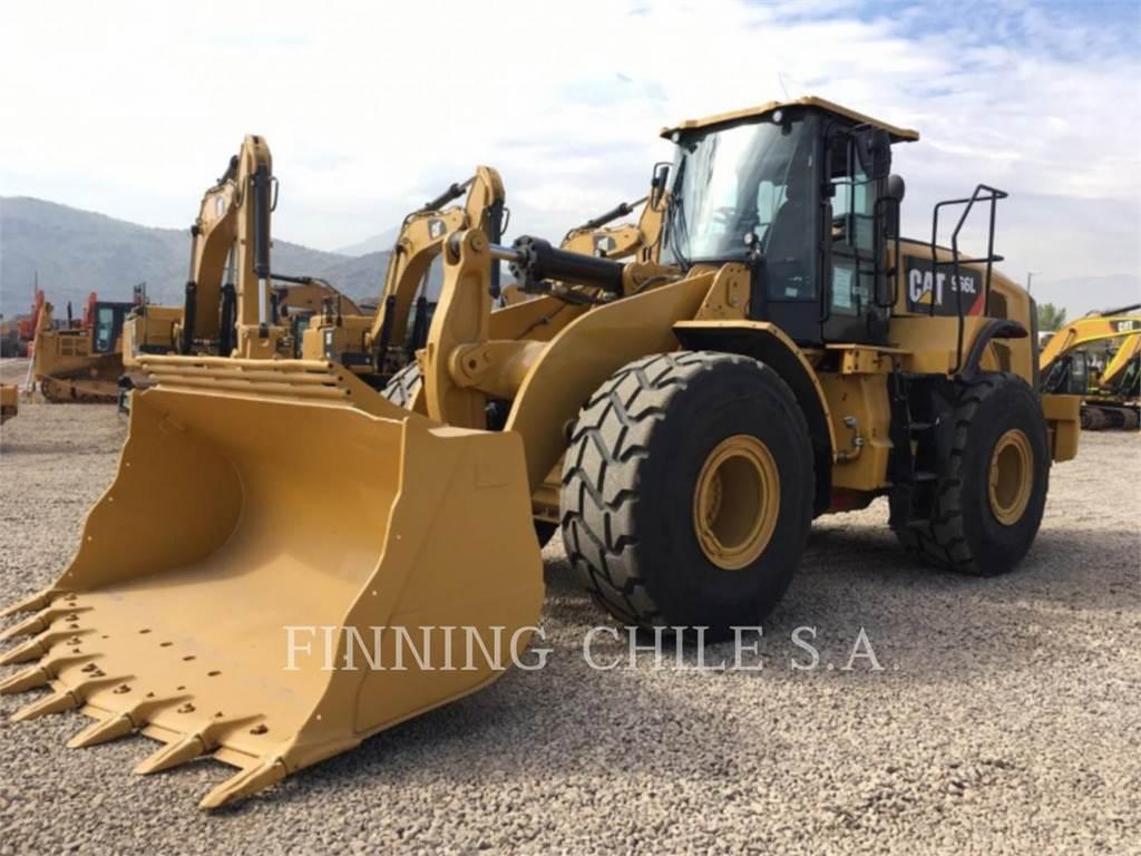 Caterpillar 966L, Pás carregadoras de rodas, Equipamentos Construção