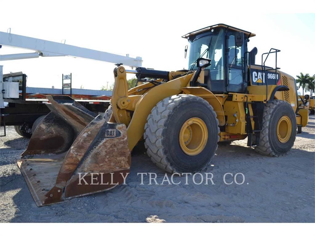 Caterpillar 966M, Ładowarki kołowe, Sprzęt budowlany