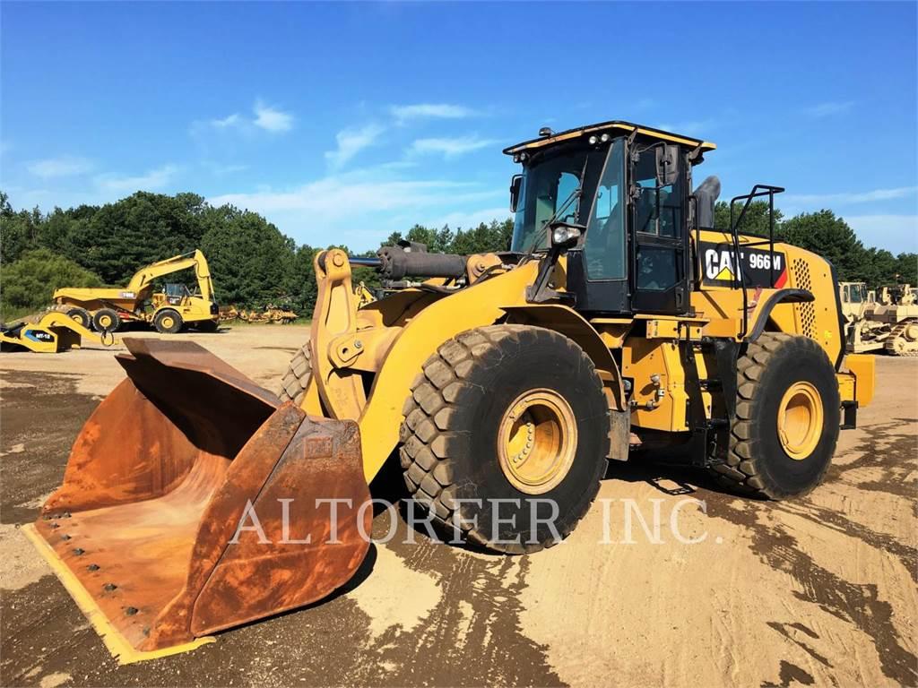 Caterpillar 966M, Wheel Loaders, Construction