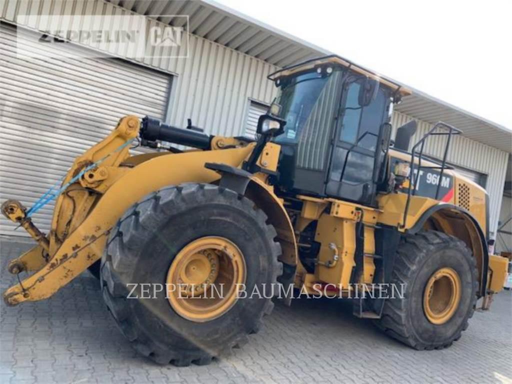 Caterpillar 966M, Incarcator pe pneuri, Constructii