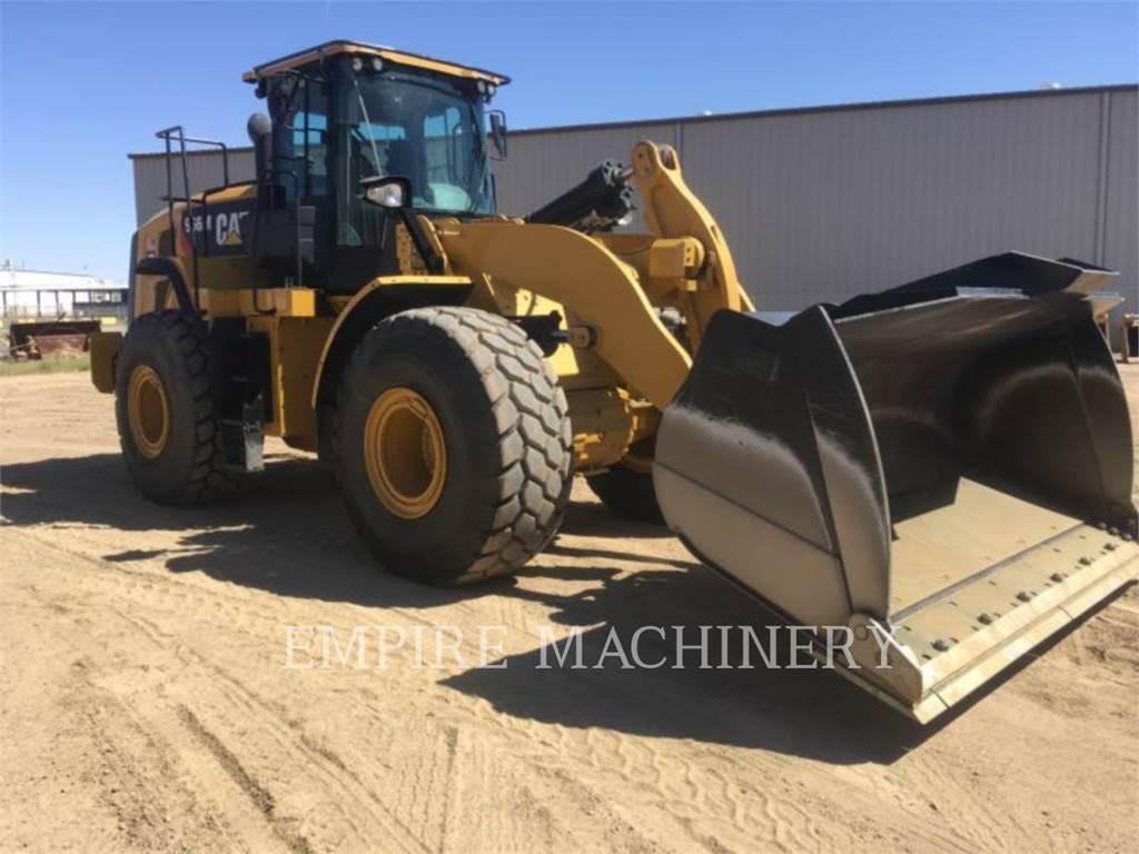 Caterpillar 966M、ホイールローダー、建設