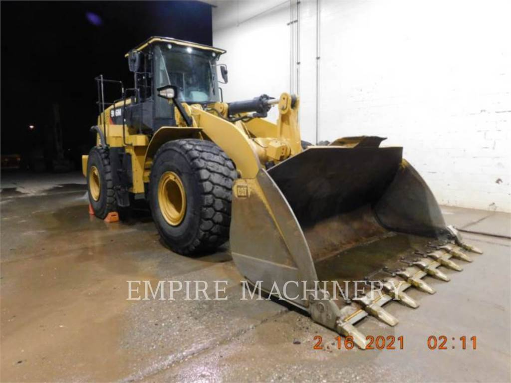Caterpillar 966M、轮式装载机、建筑设备