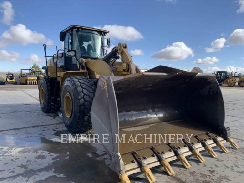 Caterpillar 966M, Pás carregadoras de rodas, Equipamentos Construção