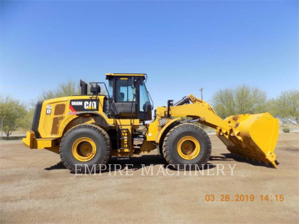 Caterpillar 966M AOC、轮式装载机、建筑设备