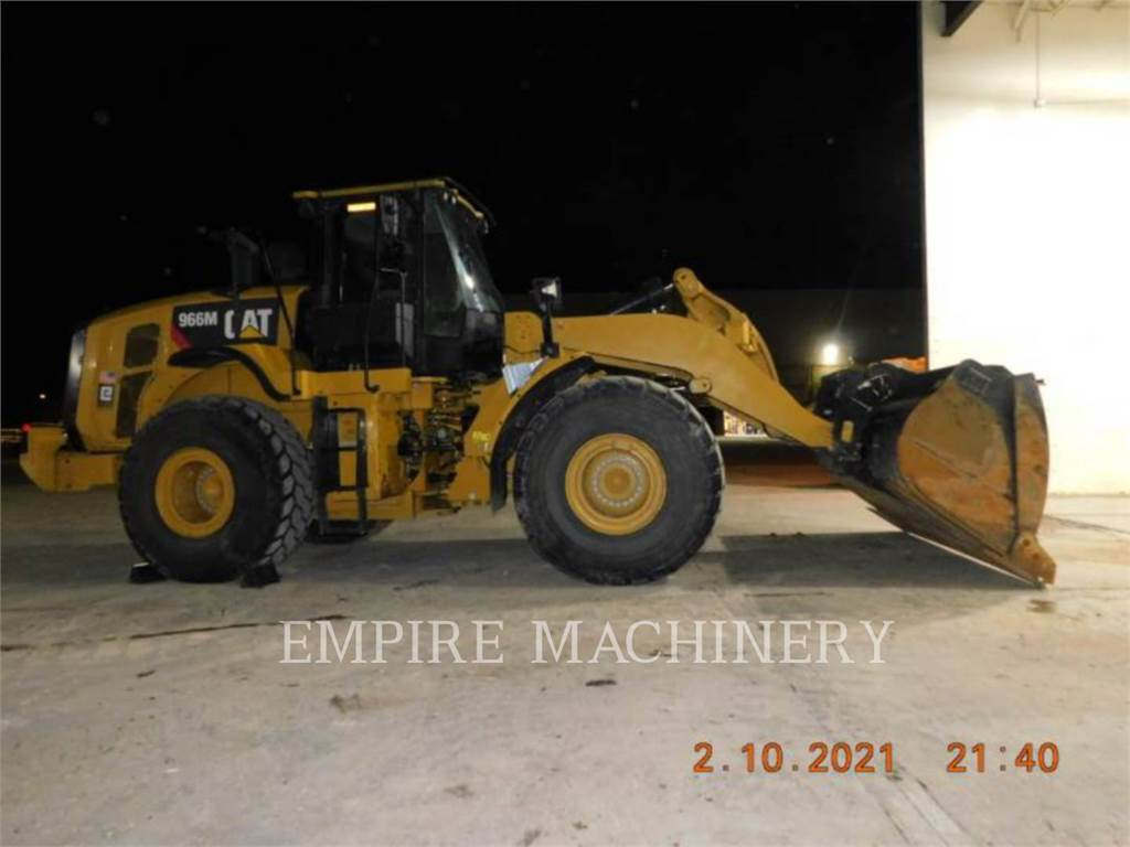 Caterpillar 966M FC, Ładowarki kołowe, Sprzęt budowlany