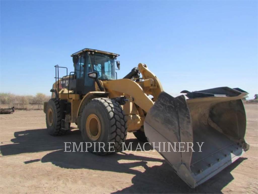 Caterpillar 966M FC, Pás carregadoras de rodas, Equipamentos Construção