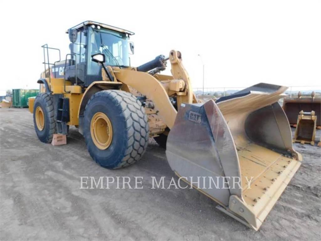 Caterpillar 966M FC, Chargeuse sur pneus, Équipement De Construction