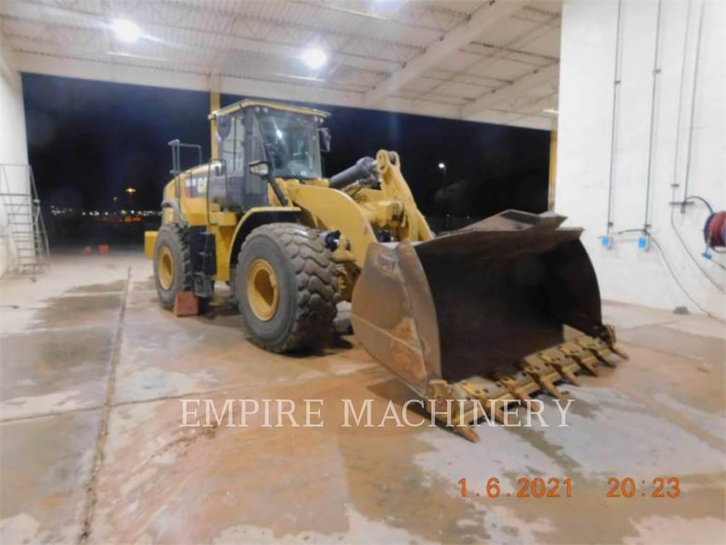 Caterpillar 966M FCAOC, Pás carregadoras de rodas, Equipamentos Construção