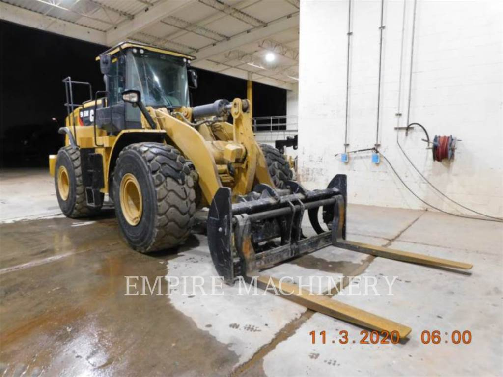 Caterpillar 966M FCAOC, Wheel Loaders, Construction