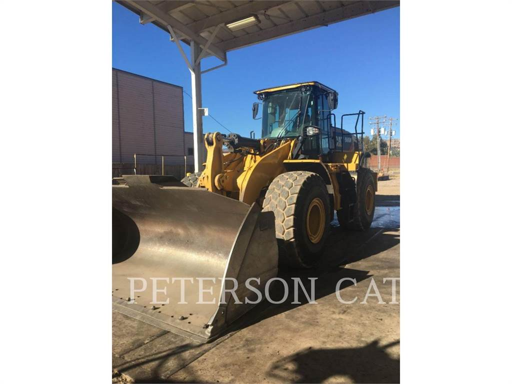 Caterpillar 966M FUS, Wheel Loaders, Construction