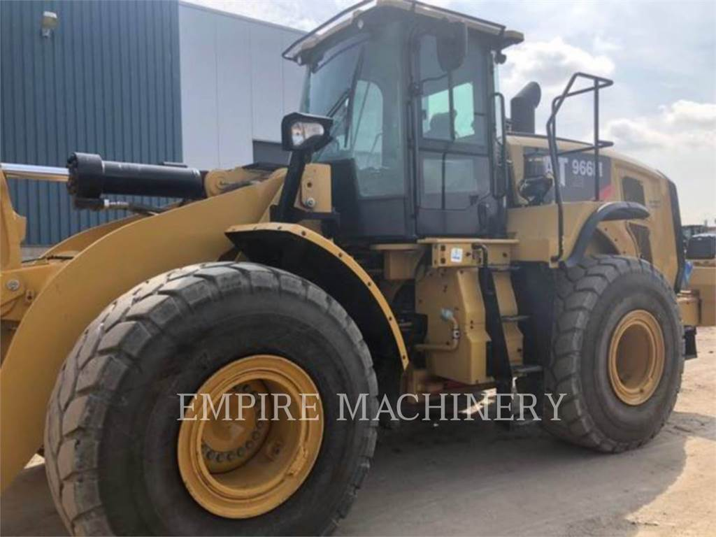 Caterpillar 966M XE, Incarcator pe pneuri, Constructii