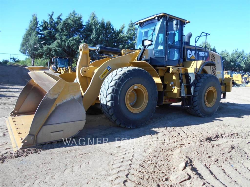 Caterpillar 966MXE, Cargadoras sobre ruedas, Construcción