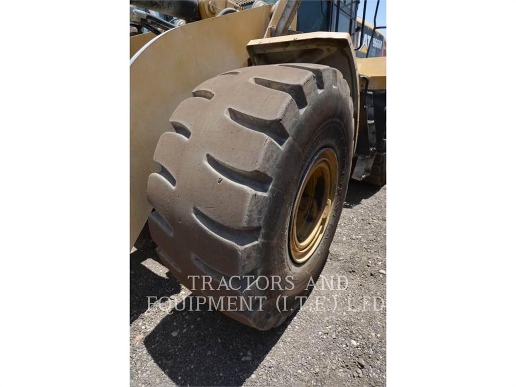 Caterpillar 966MXE, Wielladers, Bouw