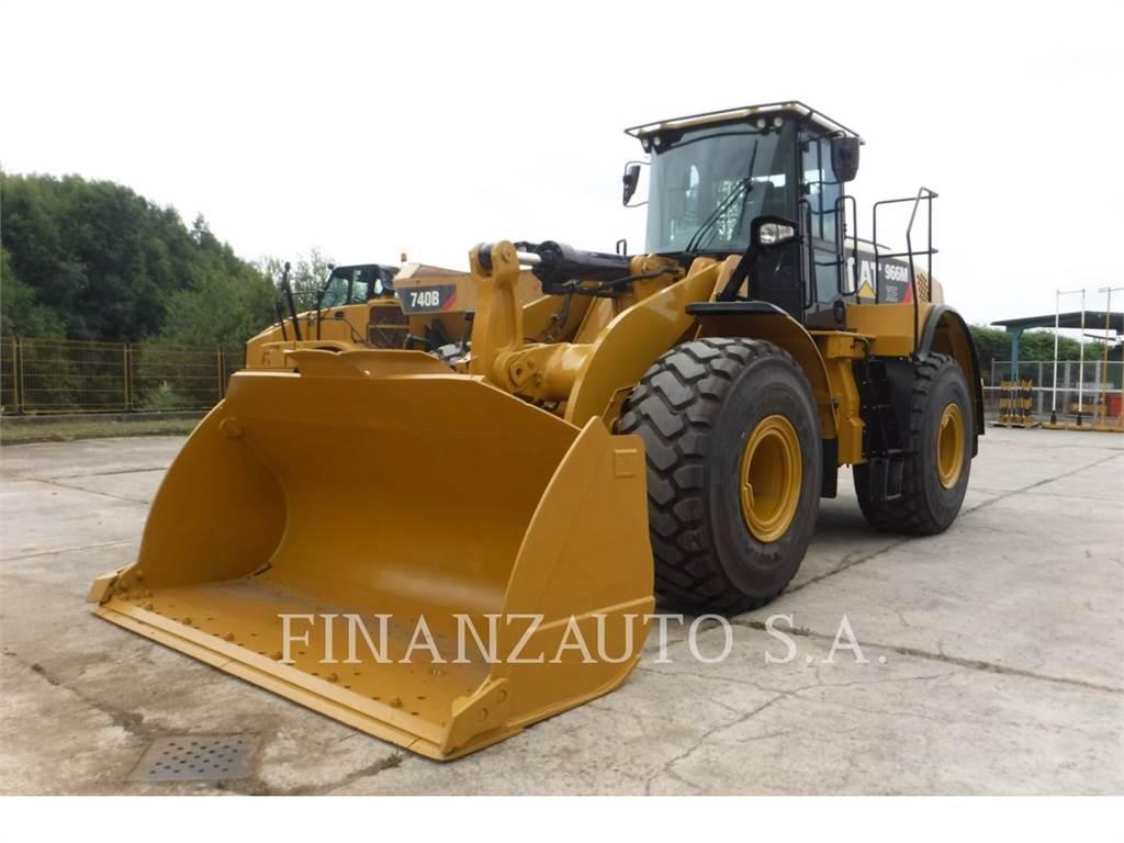 Caterpillar 966MXE、ホイールローダー、建設