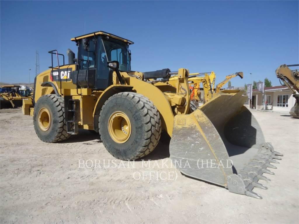 Caterpillar 966MXE, Incarcator pe pneuri, Constructii