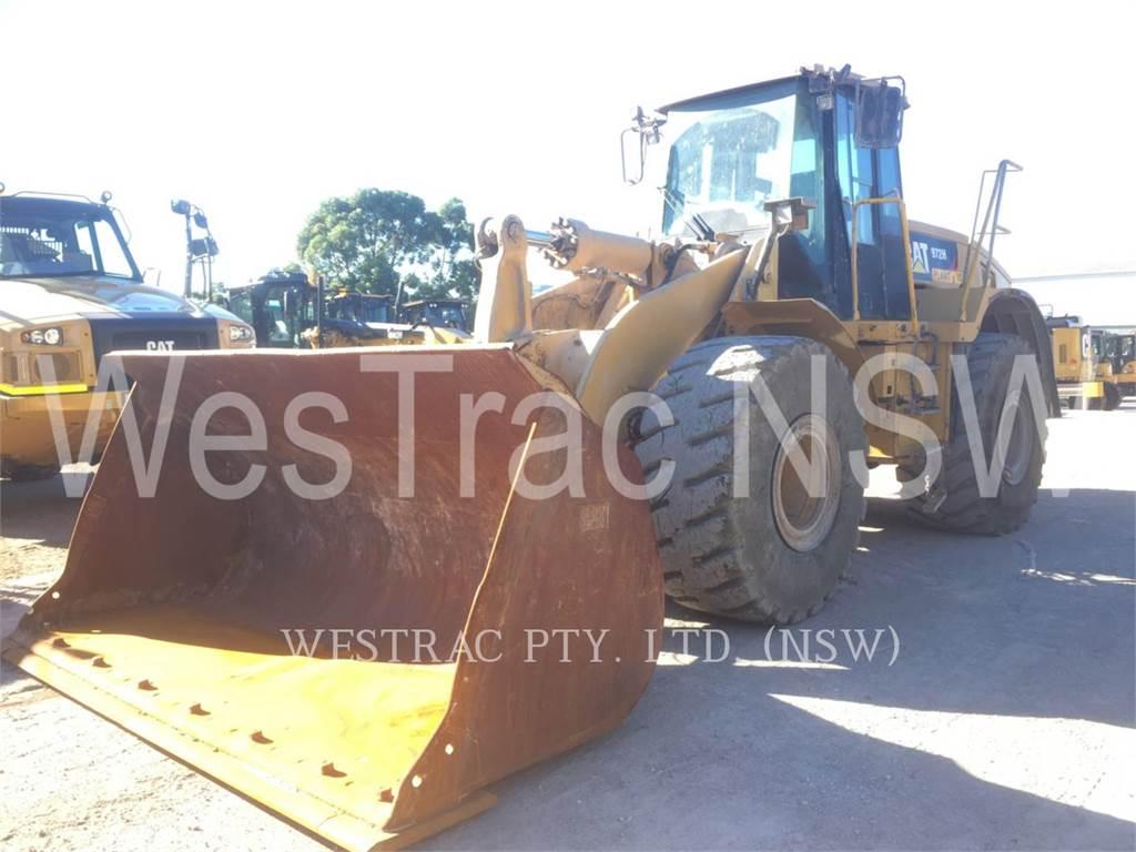 Caterpillar 972H, Pás carregadoras de rodas, Equipamentos Construção