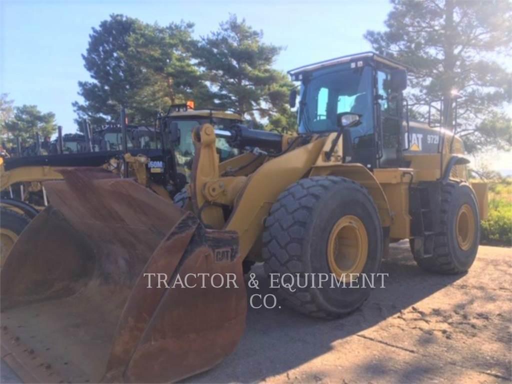 Caterpillar 972K, Cargadoras sobre ruedas, Construcción