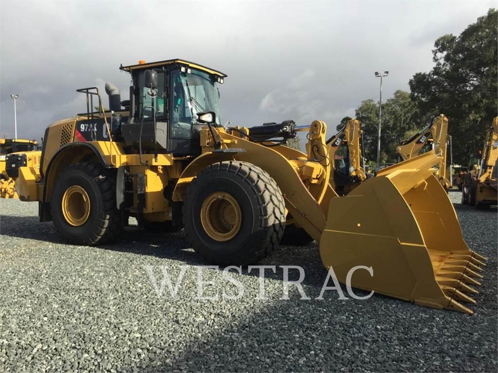 Caterpillar 972K, Wheel Loaders, Construction