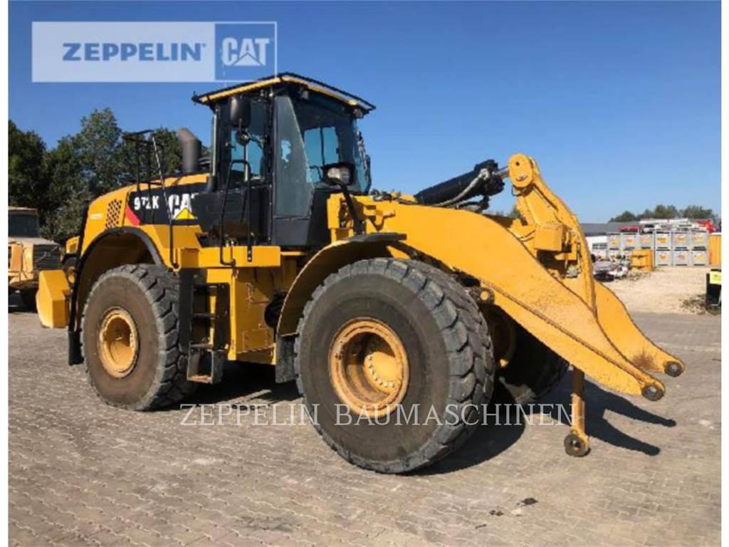 Caterpillar 972K, Incarcator pe pneuri, Constructii