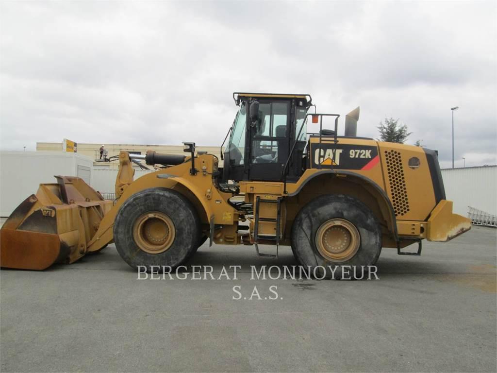 Caterpillar 972K, Chargeuse sur pneus, Équipement De Construction