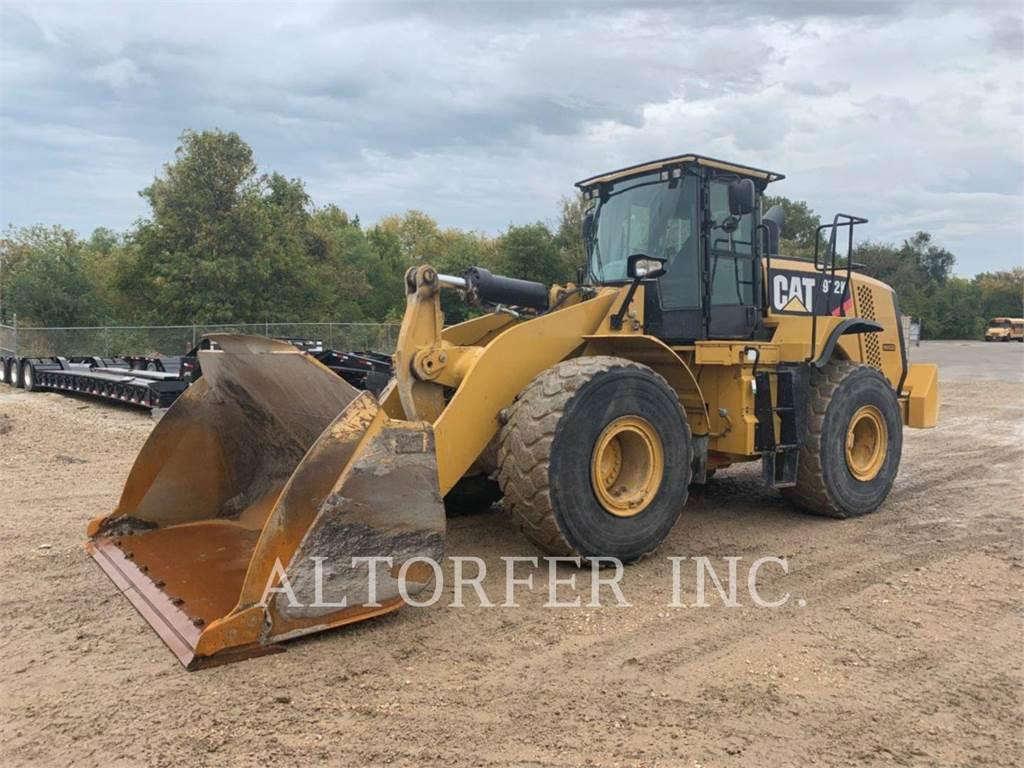 Caterpillar 972K、ホイールローダー、建設
