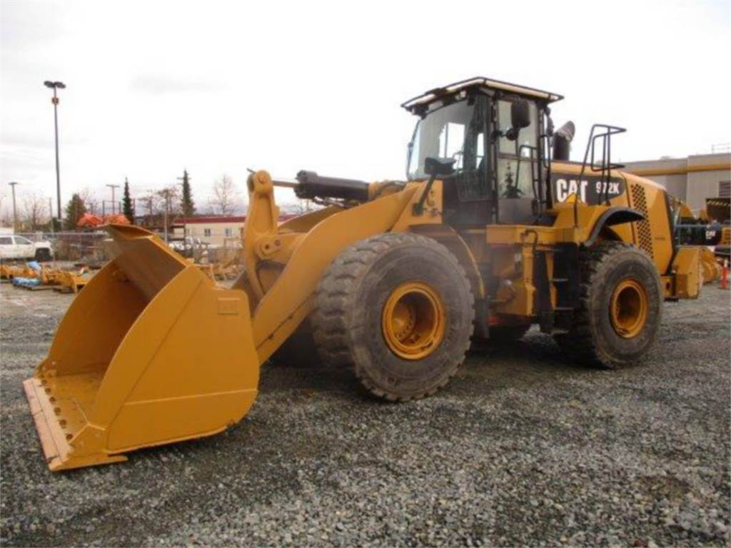 Caterpillar 972K, Wheel Loaders, Construction