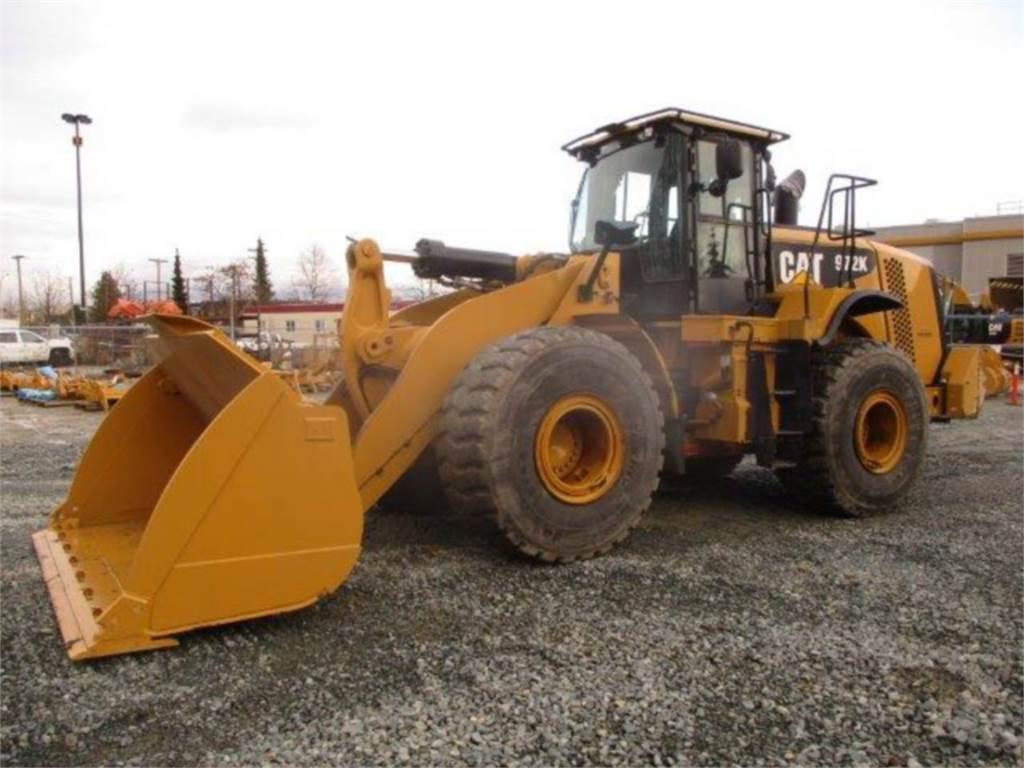 Caterpillar 972K, Radlader, Bau-Und Bergbauausrüstung
