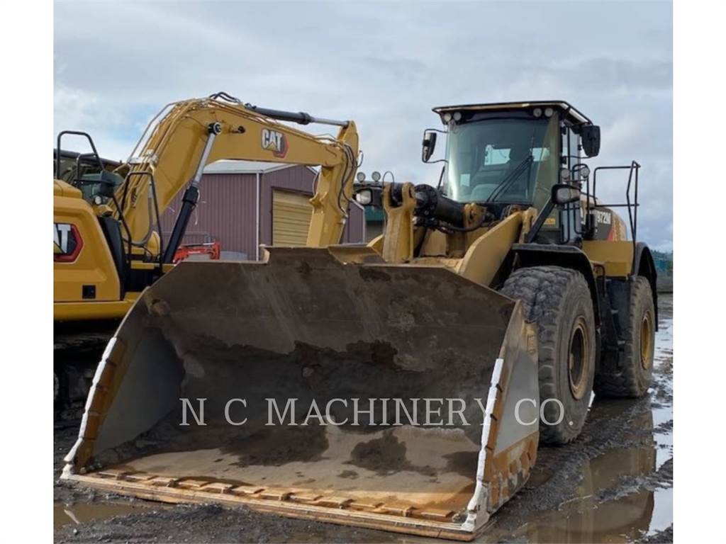 Caterpillar 972M, Wheel Loaders, Construction