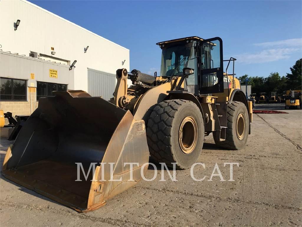 Caterpillar 972M, Wielladers, Bouw