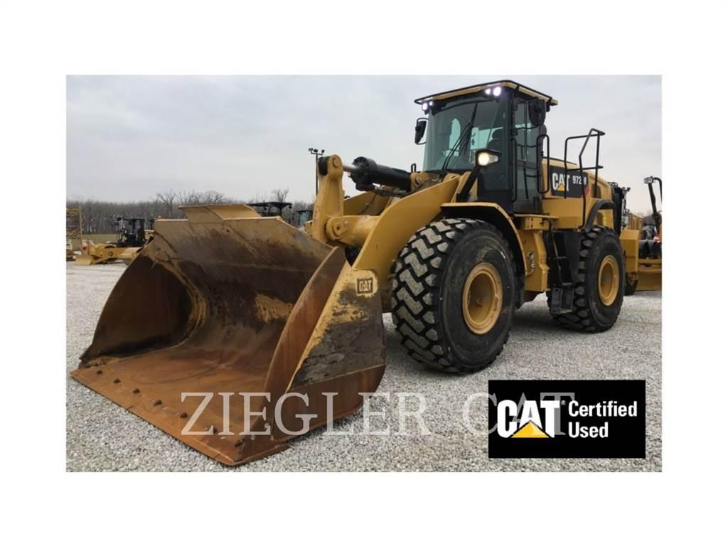 Caterpillar 972M, Ładowarki kołowe, Sprzęt budowlany