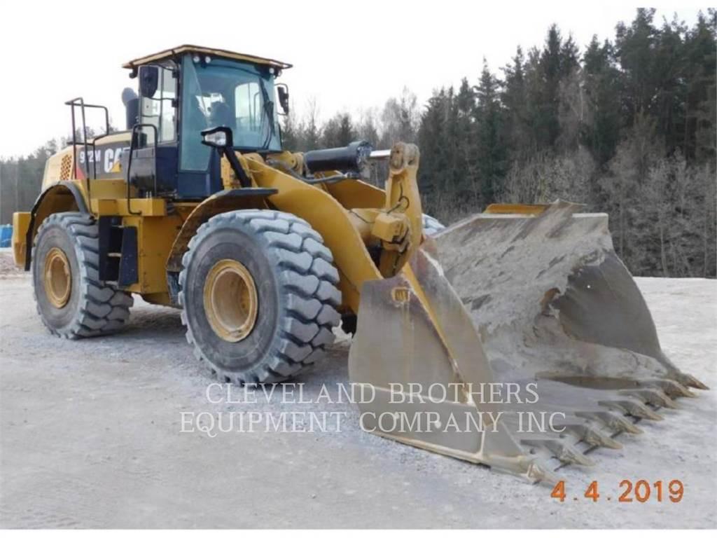 Caterpillar 972M, Pás carregadoras de rodas, Equipamentos Construção