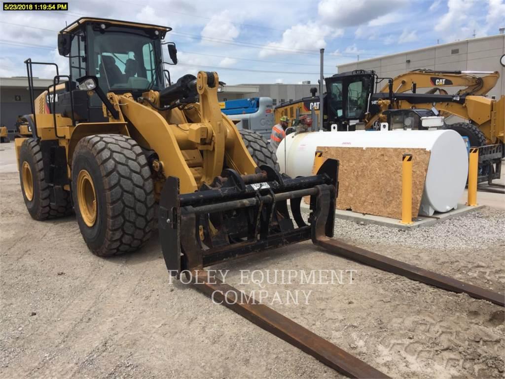 Caterpillar 972M、ホイールローダー、建設