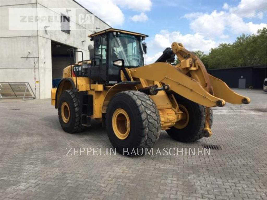Caterpillar 972MXE, Pás carregadoras de rodas, Equipamentos Construção