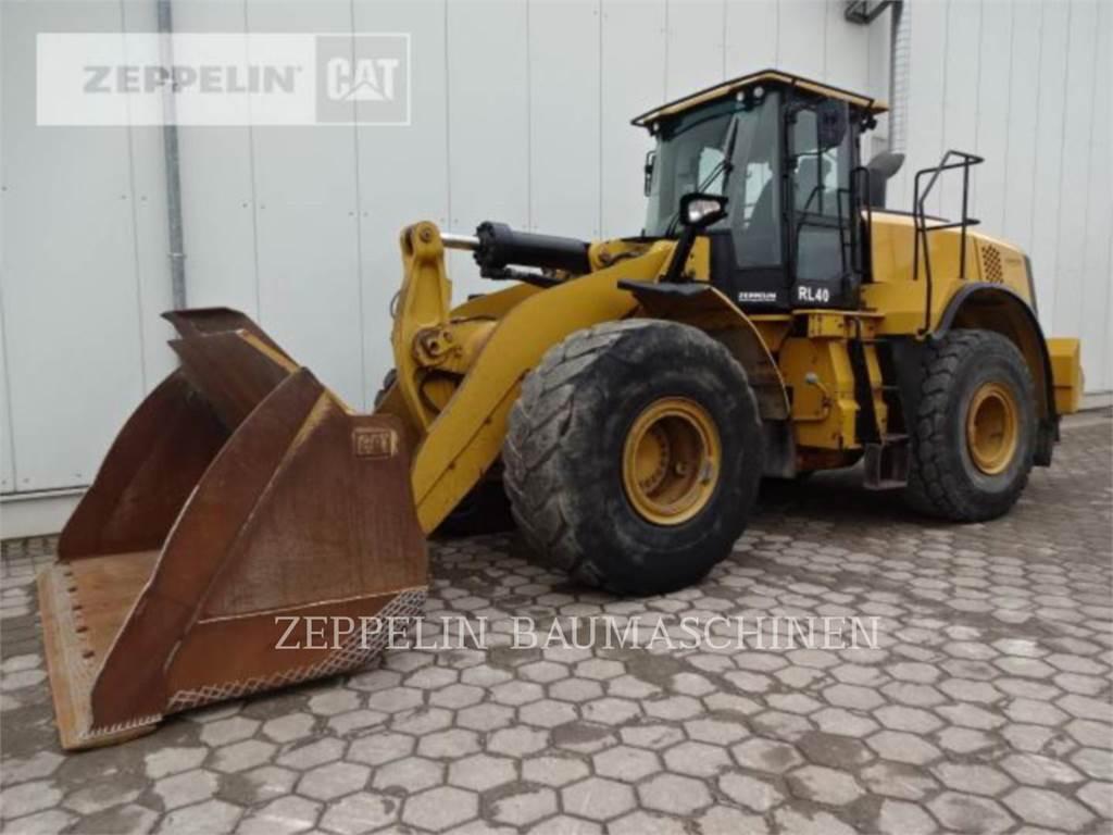 Caterpillar 972MXE, Wielladers, Bouw