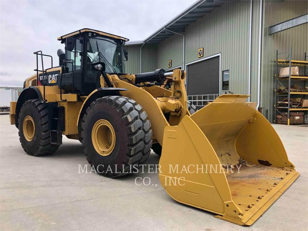 Caterpillar 972MXE, Chargeuse sur pneus, Équipement De Construction