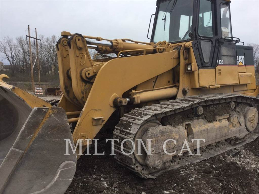 Caterpillar 973, track loaders, Construction