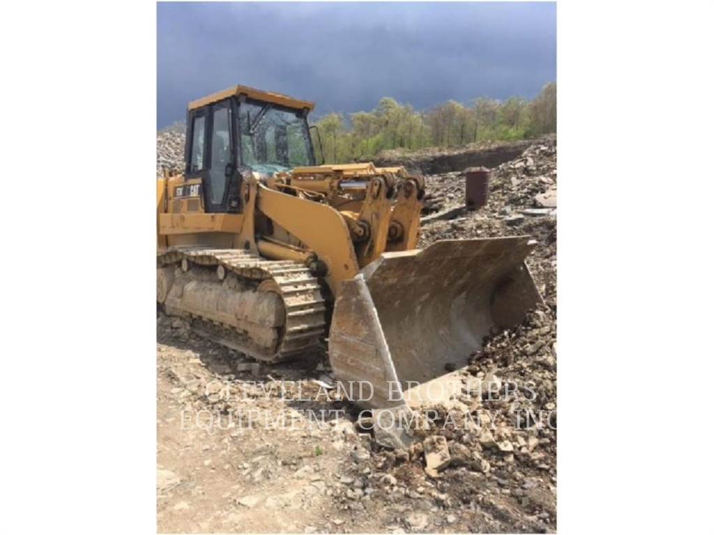 Caterpillar 973C, track loaders, Construction