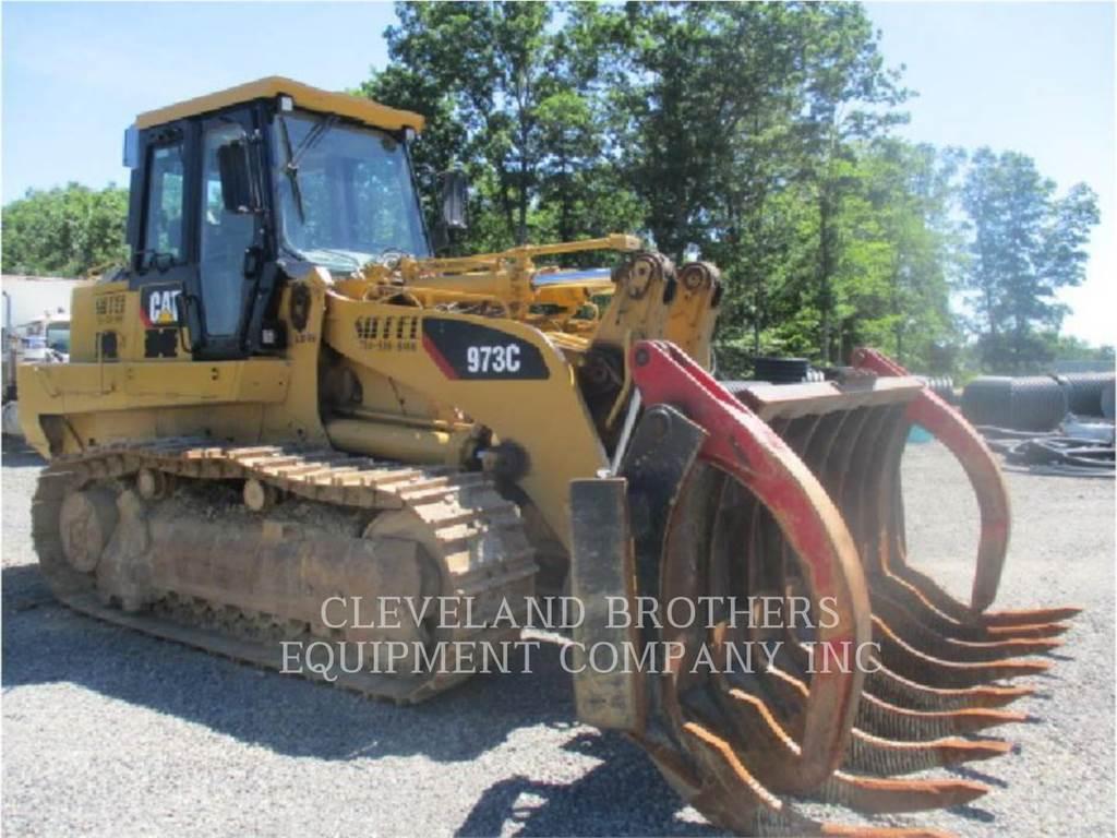 Caterpillar 973C, track loaders, Construction